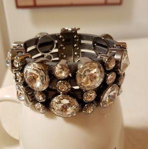 Henri Bendel Leather Soft Cuff Bracelet